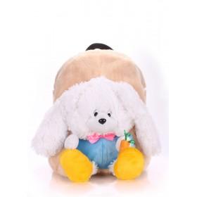 Рюкзак PoolParty Kiddy Rabbit White