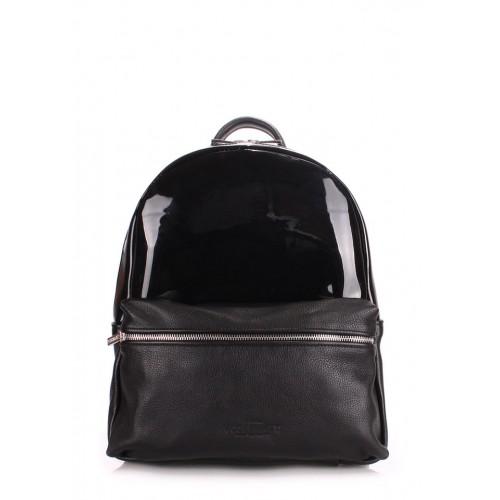 Рюкзак PoolParty Mini Transparent Black
