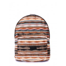Рюкзак PoolParty Backpack Rasta Brown