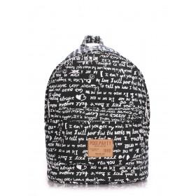 Рюкзак PoolParty Backpack Signature Black