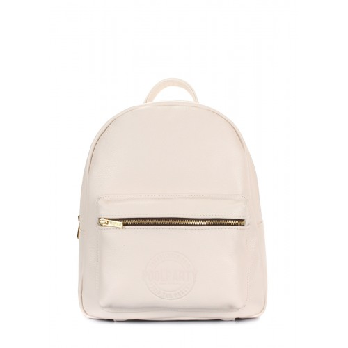 Рюкзак PoolParty Backpack XS Leather Beige
