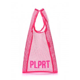 Женская сумка PoolParty PLPRT Mesh Tote Pink