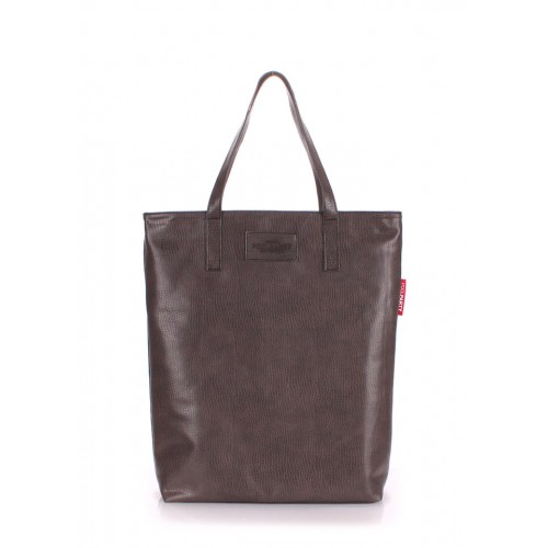 Сумка PoolParty Tulip Tote Snake Brown