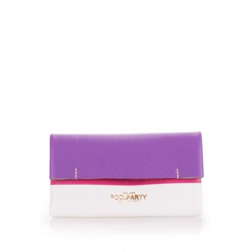 Женская косметичка-клатч Pool Party 2nite Violet White Pink