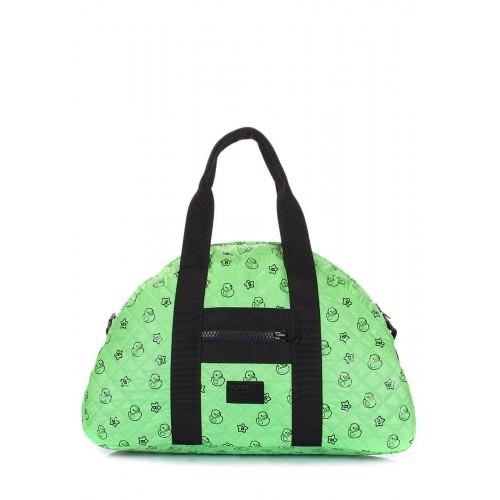 Стеганая сумка PoolParty Alaska Ducks Green