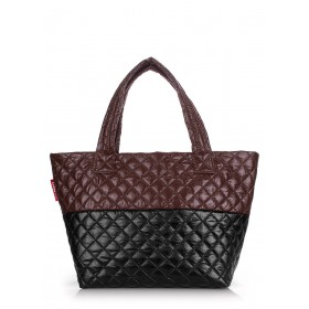 Сумка PoolParty Broadway Quilted Brown Black