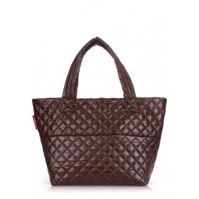 Сумка PoolParty Broadway Quilted Brown