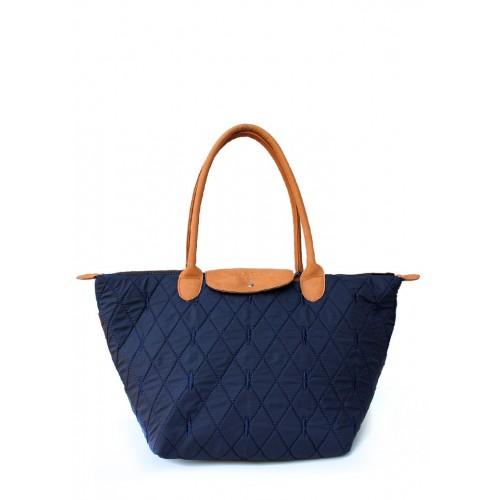 Стеганая дутая сумка PoolParty Casual Diamond Blue