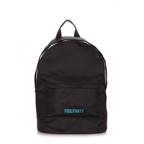 Рюкзак молодежный PoolParty Eco Black