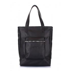 Кожаная сумка Pool Party Spirit Black