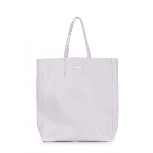Женская кожаная сумка PoolParty City Safyan Lightblue