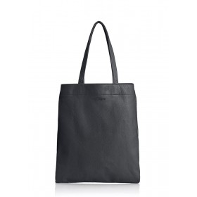 Кожаная сумка PoolParty Daily Tote Black
