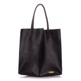 Кожаная сумка PoolParty Milan Safyan Black
