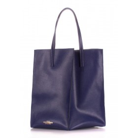 Кожаная сумка PoolParty Milan Safyan Blue