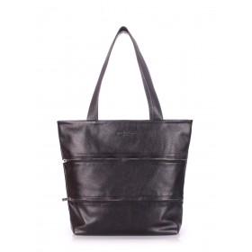 Кожаная сумка Pool Party Choice Black