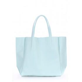Кожаная сумка PoolParty Soho Bag Baby Blue