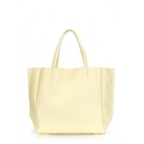 Женская кожаная сумка PoolParty Soho Bag Lemonade