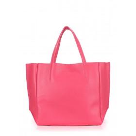 Кожаная сумка PoolParty Soho Bag Pink