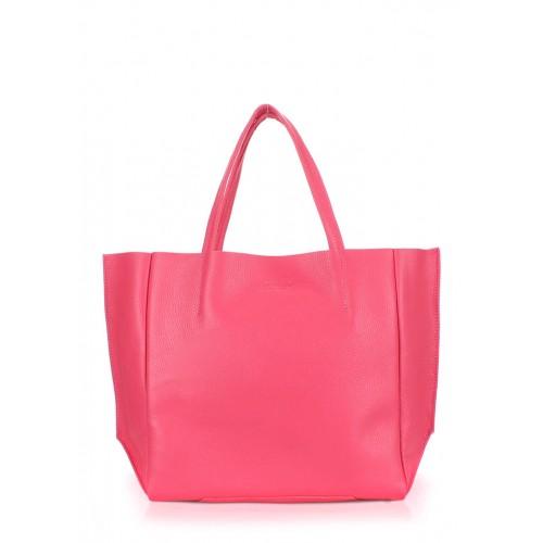 Женская кожаная сумка PoolParty Soho Bag Pink