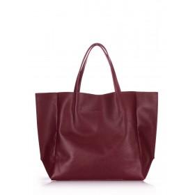 Кожаная сумка PoolParty Soho Bag Marsala