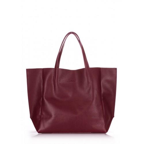 Женская кожаная сумка PoolParty Soho Bag Marsala