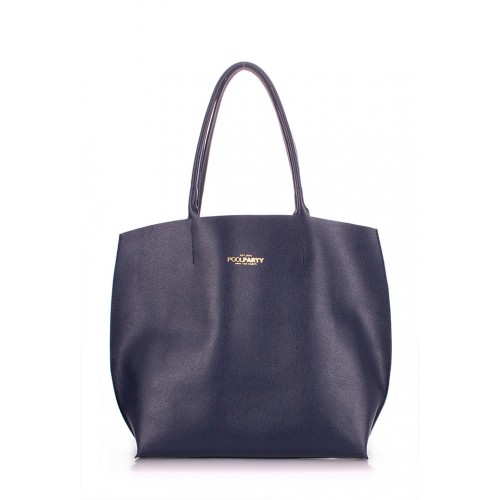 Женская кожаная сумка PoolParty Pearl Blue