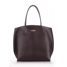 Кожаная сумка PoolParty Pearl Brown