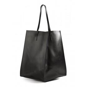 Кожаная сумка PoolParty Limited Milan Black