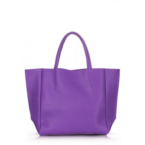 Женская кожаная сумка PoolParty Soho Bag Violet