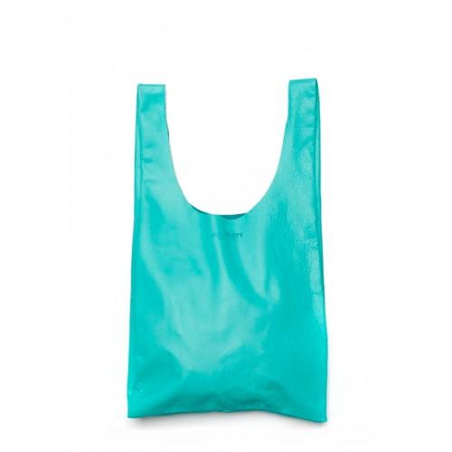 Женская кожаная сумка PoolParty Tote Blue