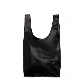 Кожаная сумка PoolParty Tote Black