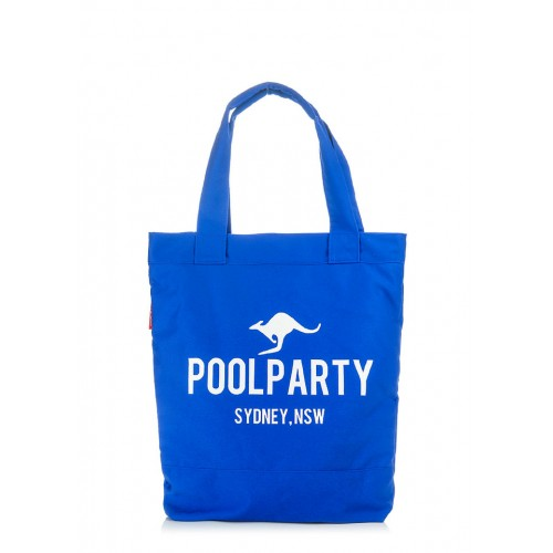 Текстильная сумка PoolParty Kangaroo Sydney Blue