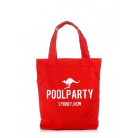 Женская сумка PoolParty Kangaroo Sydney Red