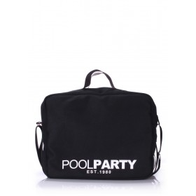Текстильная сумка PoolParty Universal Black
