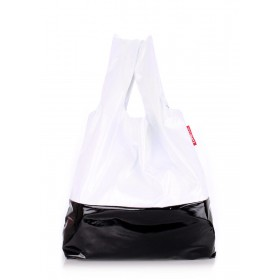 Сумка PoolParty Vynil Tote White