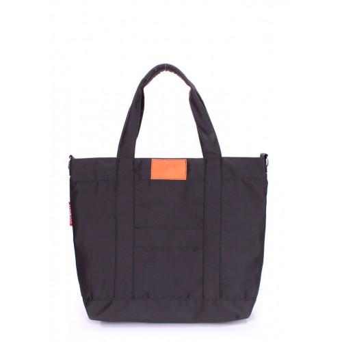 Текстильная сумка PoolParty Mall Grey