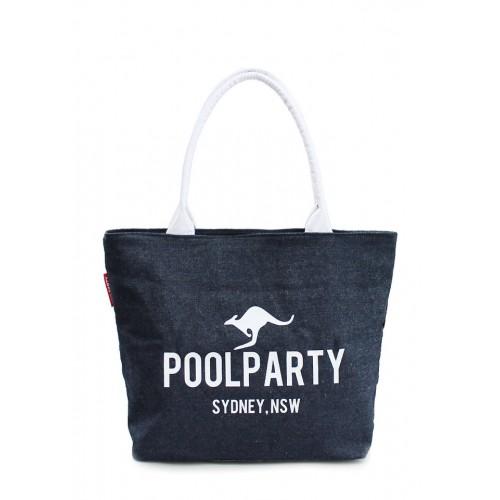 Текстильная сумка PoolParty Classic Jeans