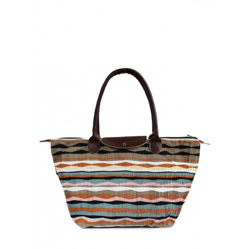 Текстильная сумка PoolParty Velvet Brown