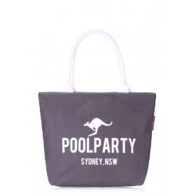 Женская сумка PoolParty Kangaroo Classic Grey