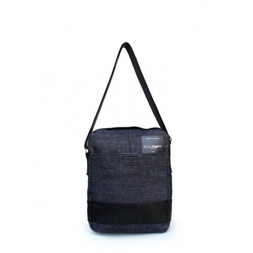 Текстильная сумка PoolParty Messenger Jeans
