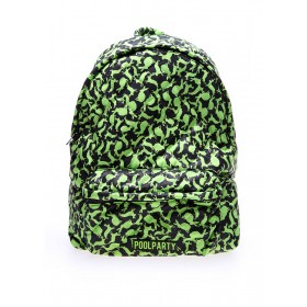 Рюкзак молодежный PoolParty Rabbits Green