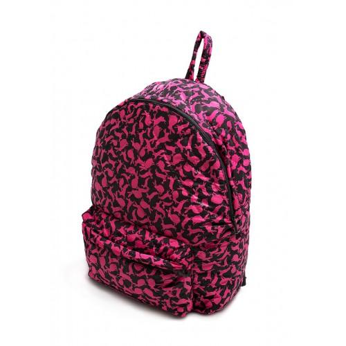 Рюкзак молодежный PoolParty Rabbits Pink