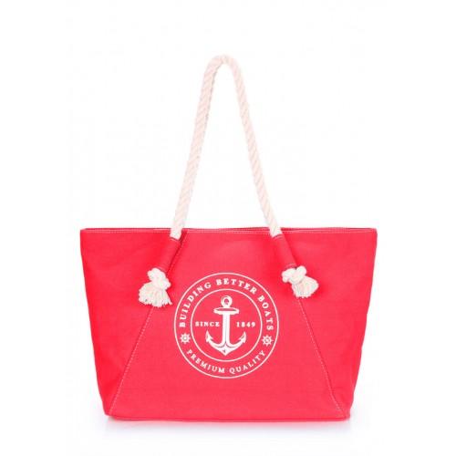 Текстильная сумка PoolParty Breeze Red