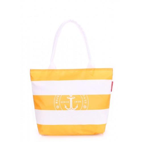 Текстильная сумка PoolParty Marine Yellow