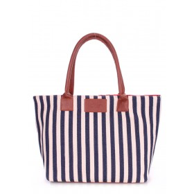 Женская сумка PoolParty Navy Tote Blue