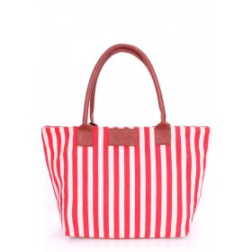 Женская сумка PoolParty Navy Tote Red