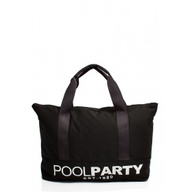Текстильная сумка PoolParty Original Black
