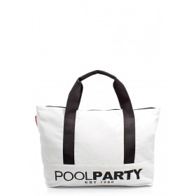Текстильная сумка PoolParty Original White
