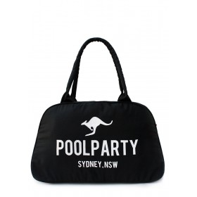 Женская сумка PoolParty Kangaroo Casual Black