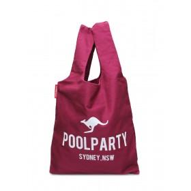 Женская сумка PoolParty Kangaroo Tote Bordo